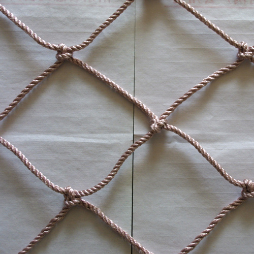 Square rope Net_Braided rope net_Braided safety rope net