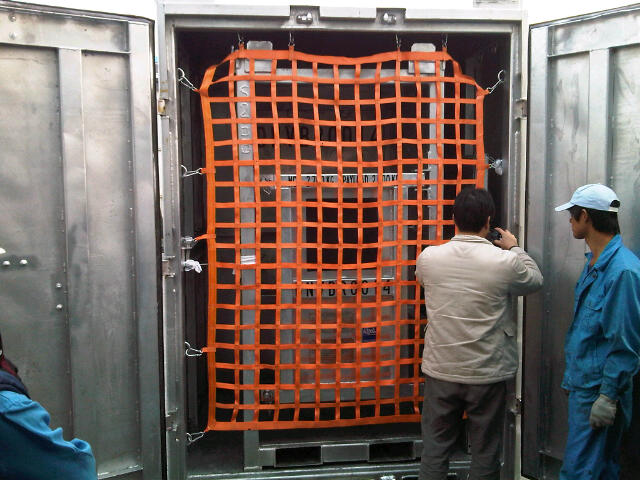 container safety net_webbing cargo net